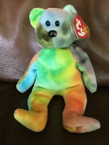"""TY Beanie Babie """"GARCIA"""" ULTRA RARE NEW PVC 2 Can Tags + More INVESTMENT QUALITY"""