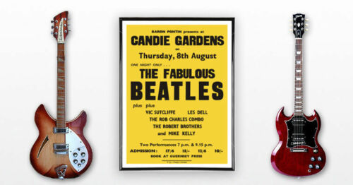 HUGE-23-x-33-The-Beatles-Concert-Poster-Guernsey-1963