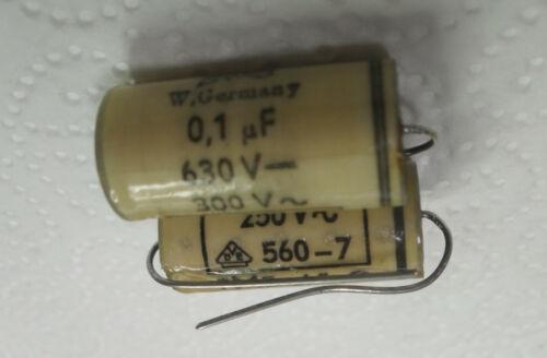300 V ~ VDE 560-7 FMF K C FO 3,3mz Condensateur arrachage Pierre eroid 0,1µf 630v Nouveau
