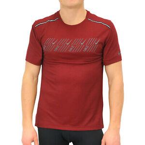 853ee27ebe81a0 Nike Miler Tech SS T-Shirt Sportshirt kurzarm Herren Weinrot CD5730 ...