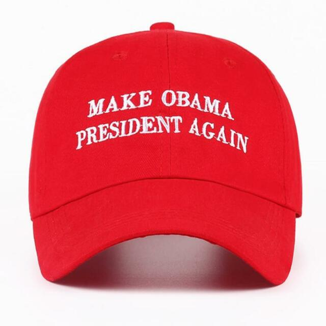 890efbaecd2 Make Obama President Again Dad Hat Men Women Cotton Baseball Cap Red ...