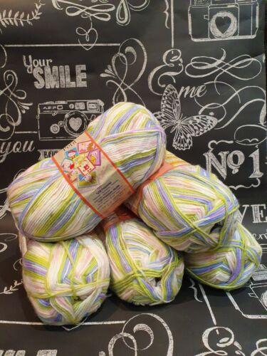 Super Suave Bebé Hilado Nako Tejer Crochet Lana//Hilo Bolas 1 X Paquete 500g Nuevo