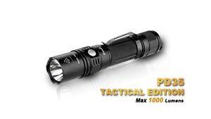 Fenix-PD35TAC-PD35-Cree-XP-L-LED-1000-Lumen-Strobe-inkl-Batterien-und-Holster