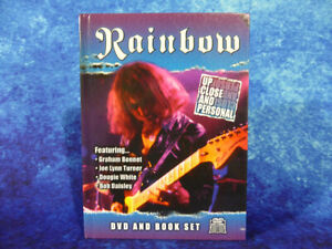 RAINBOW Up Close And Personal DVD & 72 PAGE BOOK SET 66mins - FREE UK SHIPPING!