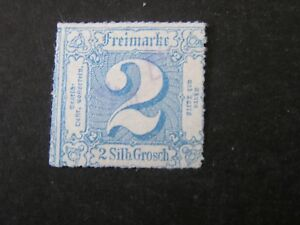 GERMANY-THURN-amp-TAXIS-NORTHERN-DISTRICT-SCOTT-31-2sgr-VALUE-BLUE-1866-USED