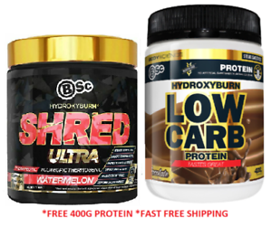 Hydroxyburn-Shred-Ultra-By-Bsc-Body-Science-60-Serves-Fat-burner-Weight-Loss-LCB