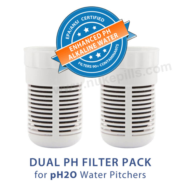 Seychelle pH2O Alkaline Water Filter Pitcher Replacement Single