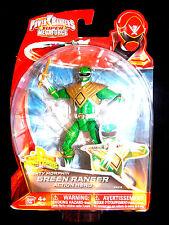 "POWER RANGERS SUPER MEGAFORCE MIGHTY MORPHIN GREEN 5"" RANGER NEW RARE"