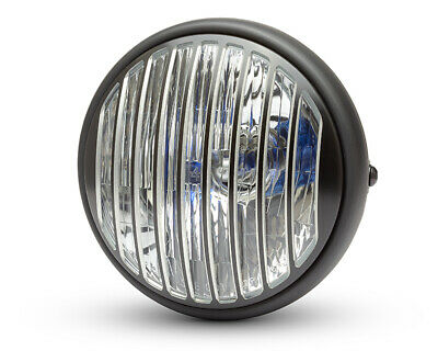 Grill compatible with BMW Retro Custom Cafe Racer /& Scrambler Motorbike Headlight LED 7.7