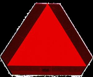 Slow Moving Vehicle Sign/ Mounting hardware