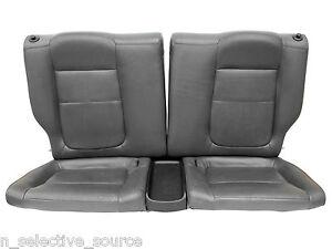 Acura Integra GSR VTEC OEM JDM Grey Gray Leather Rear Seats - Acura integra seats
