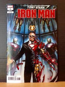 TONY STARK IRON MAN #1 GRANOV 1:25 INCENTIVE VARIANT COVER