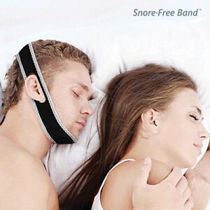 Snore-Free-Band-Fascia-Elastica-Notturna-Anti-Russamento-per-Smettere-di-Russare