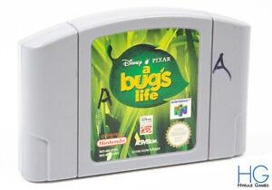 Disney/Pixar: un Bug's Life-N64 Nintendo 64 Retro Cartucho de juego PAL