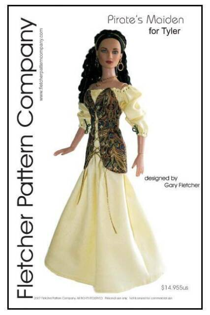 Tonner Basics Doll Clothes Sewing Pattern for Tyler Wentworth