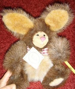 Provided Kimbearly's Originals Plush Stuffed Animal Bunny Rabbit Rudy By Kimberly Hunt Dolls & Bears