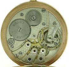 Rolex Herren Taschenuhr Pocket Watch 375/9kt Gold Gehäuse ca.1920 sehr selten