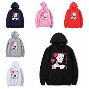 Anime Hunter x Hunter Hisoka Herren Damen Kapuzenpullover Sweatshirt Hoodie
