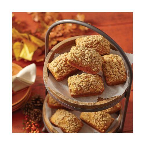 Wilton Perfect Results Premium Non-Stick Bakeware Mini Loaf Pan 18-Cavity