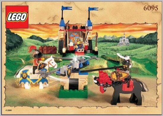 LEGO Castle: Knights Knights Knights Kingdom 1 - 6094, 6095, & 6096 - 3 Knights Kingdom Set Lot abb9a7