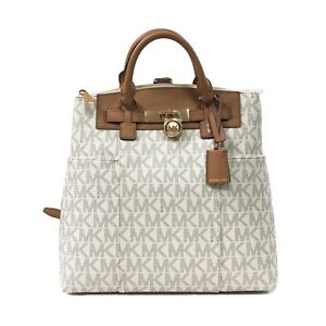 Image Is Loading Michael Kors Classic Signature Hamilton Traveler Large Convertible
