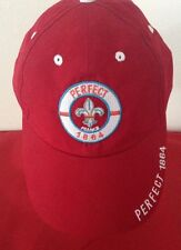 Perfect 1864 France Vodka Advertising Red Color Baseball Cap Hat