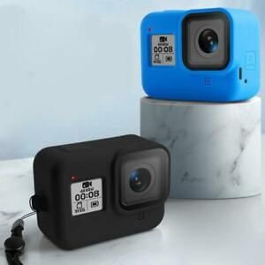 For Gopro Hero 8 Camera Soft Silicone Protective Case Cover