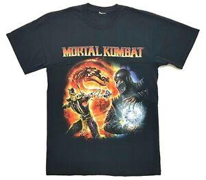 Mortal Kombat Komplete Edition Scorpion vs Subzero Tee Black Size M Mens T-Shirt