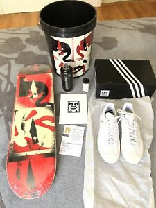Beyond Streets Shoes Deck Shepard Skateboard Fairey Obey Ebay Adidas pxETw