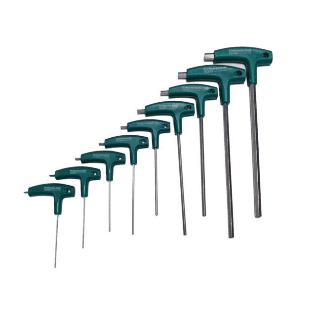 T Hex Set Allen Screwdriver Bit Metal Key Screw Steel Wrench 1.5-5.0 New