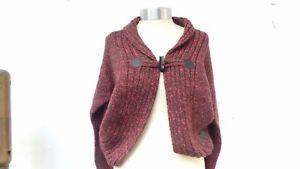 Ladies-Bench-Large-Knit-One-Button-Warm-Good-Quality-Designer-Cardigan-UK-L