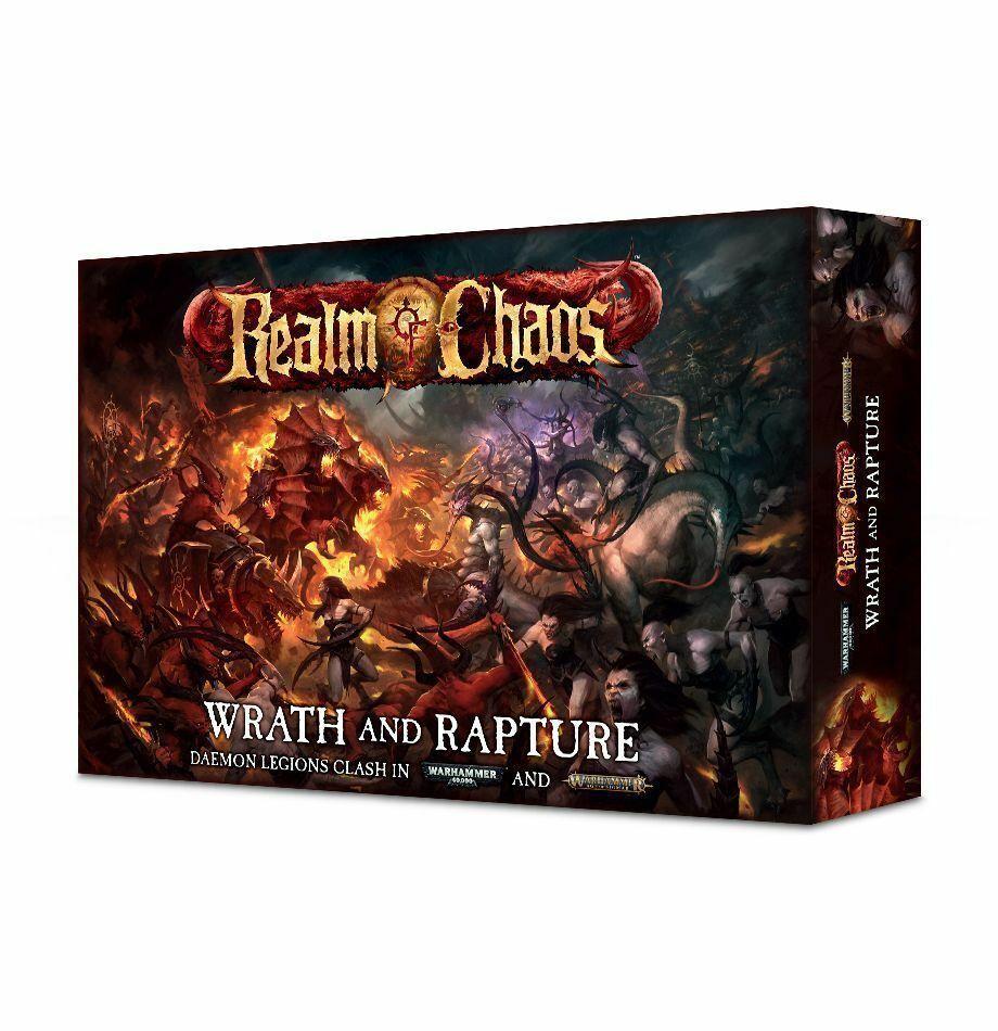 giocos lavoronegozio  - Warhammer Age of Sigmar Wrath e Rapture scatola - Realm of Chaos  ampia selezione