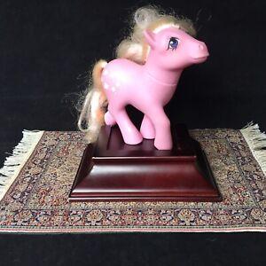 Vintage-1984-My-Little-Pony-Lickity-Split-MLP-G1-Pink-Ice-cream-cones-Hasbro