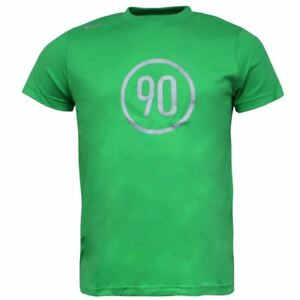 6672de7e37 Nike Total 90 Football Green Cotton Mens Tee Top T-Shirt 192985 320 ...