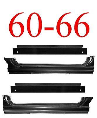 60-66 Chevy//GMC C10 Truck Full Extended Inner /& Outer Rocker Patch Panel 4PC Kit