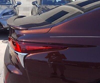 FOR 2018-2019 Lexus LS500//500H UN-PAINTED-PRIME Custom Rear Spoiler NO DRILLING