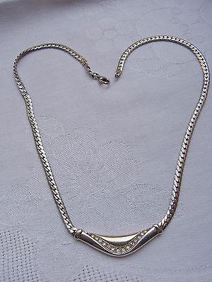 Elegantes Jugendstil Collier Halskette Kette Necklace  925 Silber Diamant  Nr.4