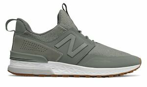 15b9422b9e99 New Balance Male Men s 574 Sport Mens Lifestyle Shoes Green With ...