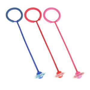 Jump-amp-Spin-Children-Kids-Wheel-Skipping-Stick-Toy-PINK