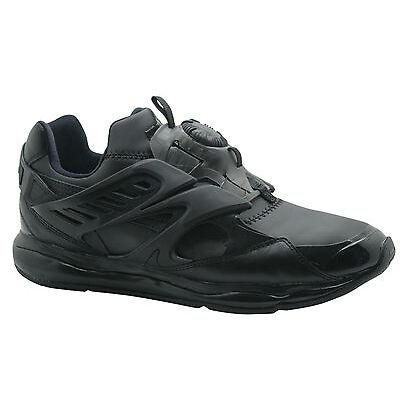 Puma Trinomic Disc Blaze Cell Mens Trainers Slip On Shoes Black Blue 360078