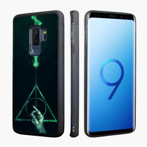 the best attitude 79a61 47f39 Harry Potter Hogwarts Deathly Hallows Case for Samsung Galaxy S9 ...