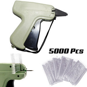 Tagging-Gun-System-5000-Barbs-Kimble-Tag-Label-1-Steel-Needles-For-Clothes-Socks