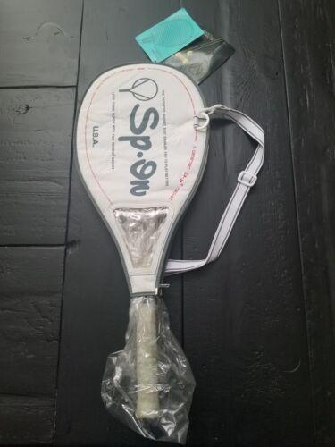 Brand New Vintage et Rare SP dans G-300 Raquette de tennis avec housse