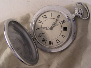 Vintage Fully Serviced Molnia 1970 CCCP Hi Grade Hunter Case Pocket Watch MINT