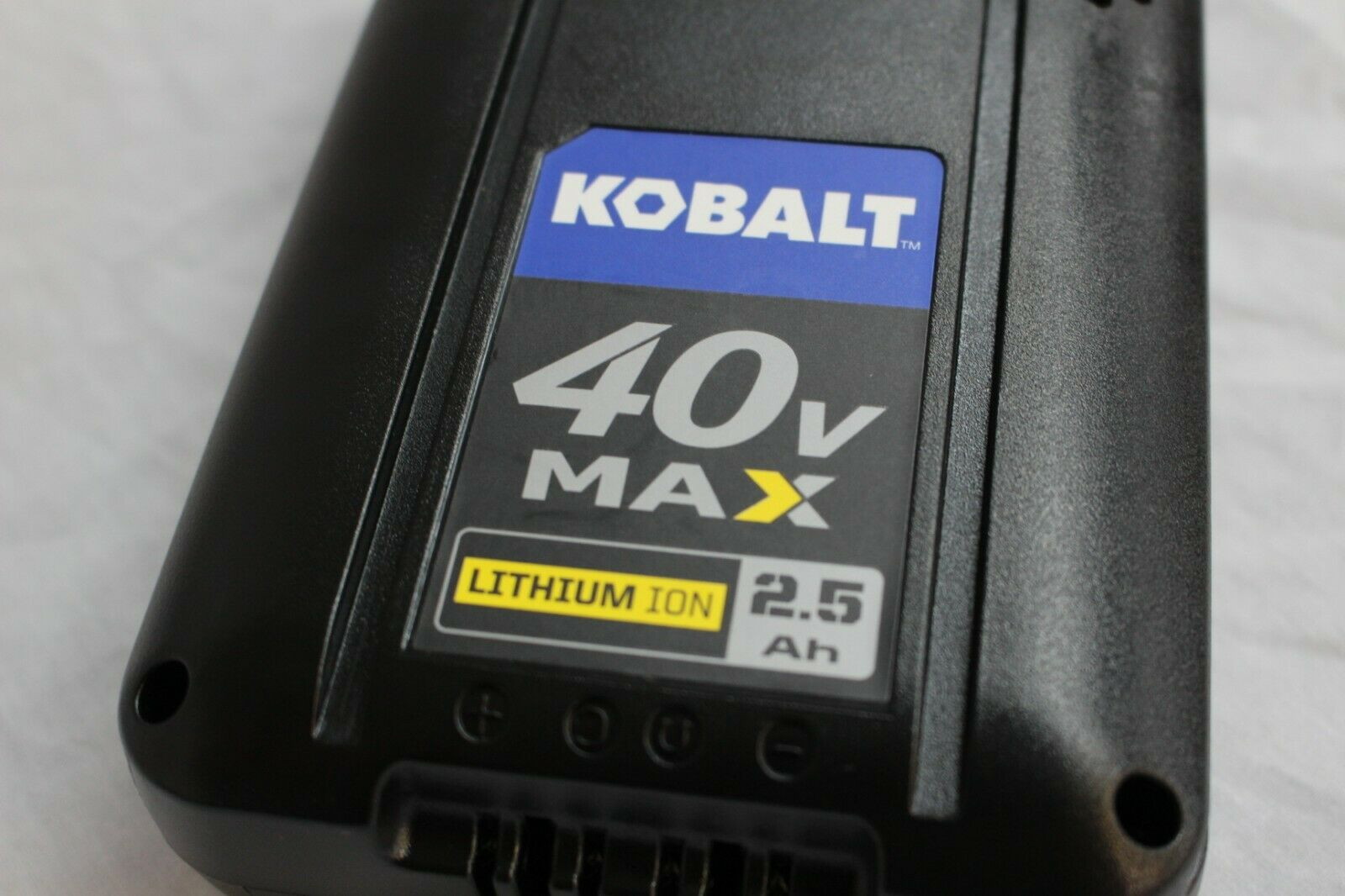 KOBALT MAX 40 VOLT 2.5AH BATTERY KB 245-06 LITHIUM ION