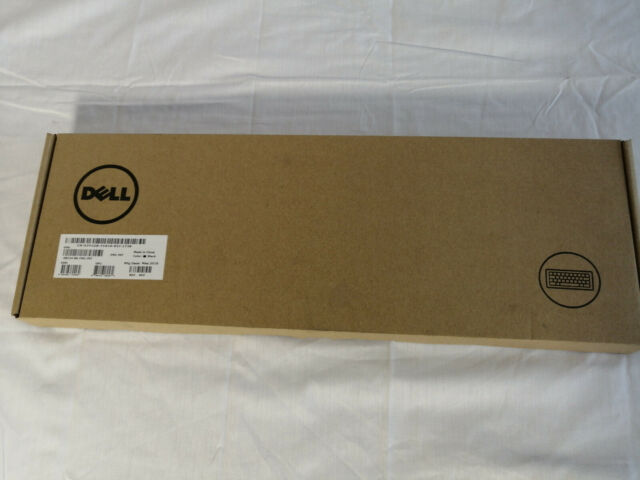 Dell US Clavier KB216t USB 2.0 Qwerty Noir NEUF Emballage d'origine