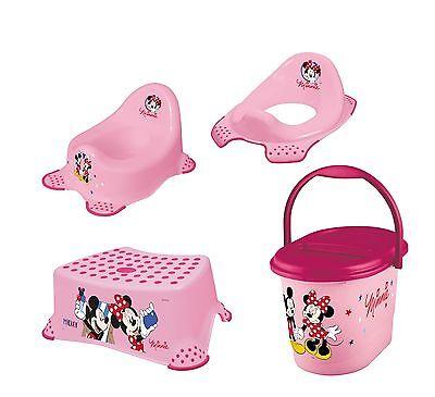 OKT Minnie Mouse Tabouret Deux /Étapes Blanc