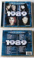 VERY BEST OF THE 80´s 1989 Volume 1 - Joe Cocker, Rattles, Roxette,... CD TOP