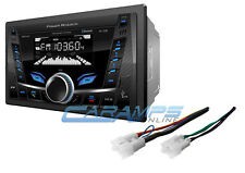 NEW POWER ACOUSTIK CAR STEREO RADIO NO CD PLAYER BLUETOOTH W/ INSTALL KIT AUXUSB