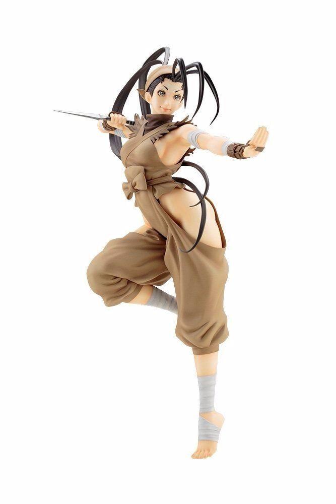 Street Fighter Bishoujo Ibuki 1 7 Pvc Figura Kotobukiya Nueva de Japón F S